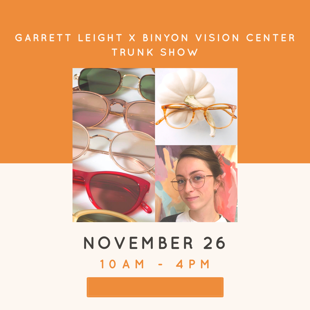 Garrett Leight Trunk Show